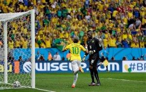 APTOPIX Brazil Soccer WCup Cameroon Brazil